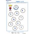 Imprimer la fiche pour dessiner et compter les billes Exercice 16 maternelle niveau 3