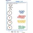 Imprimer l'Exercice 2 pour compter les perles du collier maternelle niveau 3