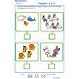 Imprimer l' Exercice 8 de l'ardoise pour apprendre à compter en moyenne section