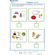 Imprimer l' Exercice 11 de l'ardoise pour apprendre à compter en moyenne section