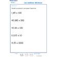 Imprimer l'exercice 10 sur les nombres décimaux