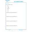 Imprimer Exercice 4 sur les nombres entiers