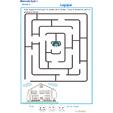 Exercice 2 : repérage dans l'espace labyrinthe 2