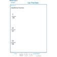 Imprimer l'exercice 5 sur les fractions