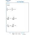 Imprimer l'exercice 6 sur les fractions