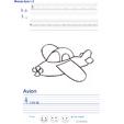 Exercice d'écriture sur l'avion
