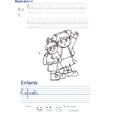 Exercice d'écriture sur les enfants