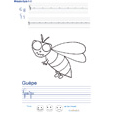 Imprimer l'exercice d'écriture sur la guèpe