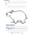 Exercice d'écriture sur l'hippopotame