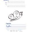 Imprimer l'exercice d'écriture sur le papillon