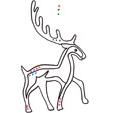 Graphisme celtique 2 : cerf