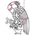 Graphisme celtique 4 : Aigle