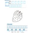 Imprimer la fiche de graphisme : F et FRAISE