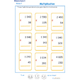 Imprimer des multiplications cycle 3 niveau 3 exercice 2