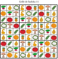 Solution de la grille de sudoku 11