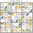 Sudoku 12 pour la maternelle : animaux