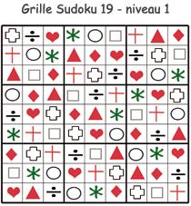 Solution de la grille de Sudoku 19
