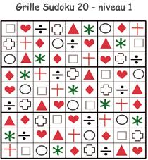 Solution de la grille de Sudoku 20