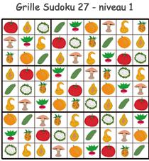 Solution de la grille de Sudoku 27