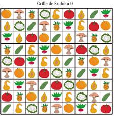 Solution de la grille de sudoku 9