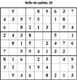 Grille de sudoku 29 pour enfants du primaire niveau 3