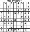 Grille de sudoku 32 pour enfants du primaire niveau 3