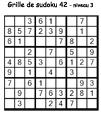 Grille de sudoku 42 pour enfants du primaire niveau 3