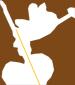 coller un batonnet au dos de la fée et des autres décorations