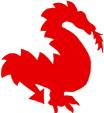 Imprimer le dragon pour la voile