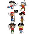 pirates à imprimer