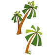 palmiers à imprimer