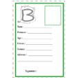 carte d'identité lettre B