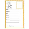 carte d'identité lettre K