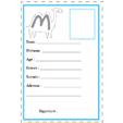carte d'identité lettre M