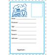 carte d'identité lettre U