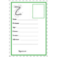 carte d'identité lettre Z
