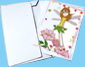 enveloppe pour carte fées