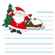 Papier lettre au Père Noël
