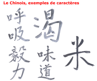 Exemple de chinois