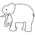 coloriage des animaux d'Afrique