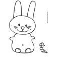Petit lapin mignon