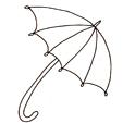 dessin parapluie