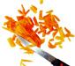 couper les abricots
