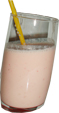 milk shake aux fruits des tropical