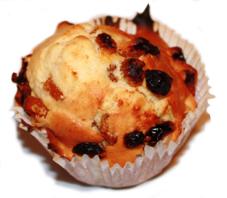 Muffin pomme raisin