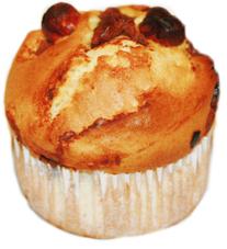 Muffins aux noisettes