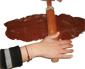 Etaler la pâte au chocolat