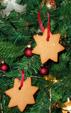 Etoiles gâteaux de Décorations de Noël