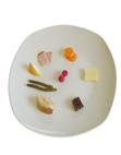 morceaux d'aliments