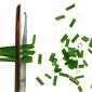couper les fines herbes